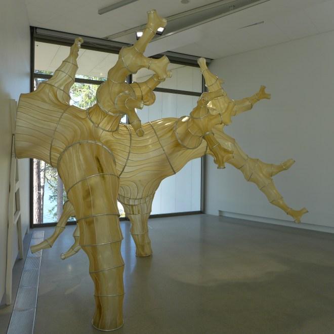 Julia Lohmann - Seaweed Sculptures.