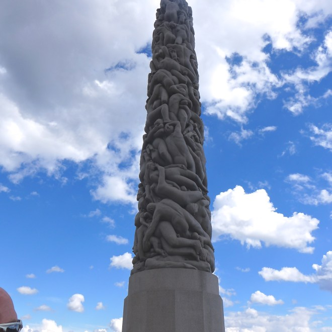 The Monolith reaching up towards the heavens.