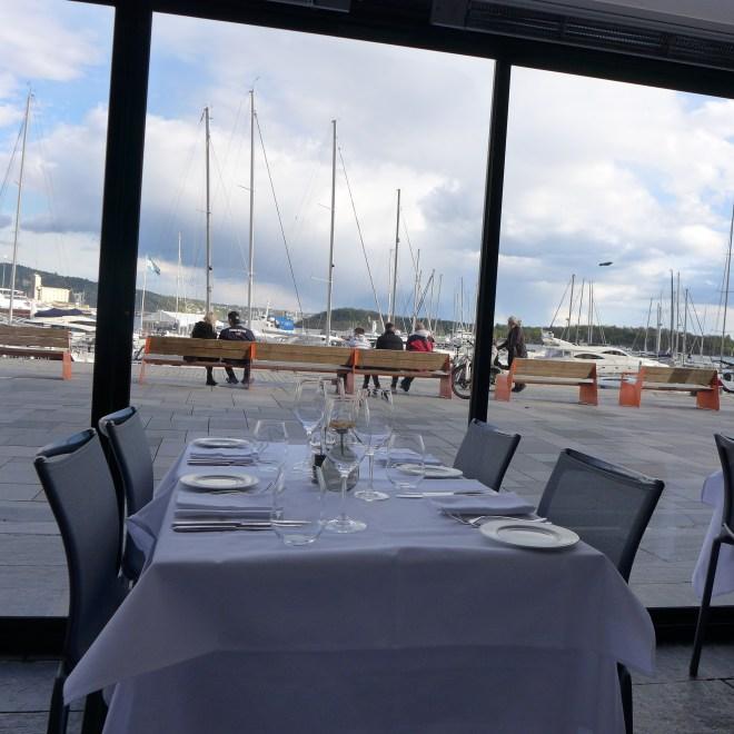 Restaurant Lofoten, delicious seafood at Aker Brygge.