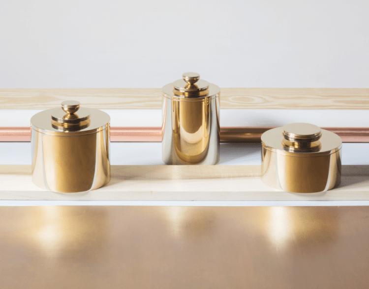 Vanina Vanini Brass Boxes. Eva Eklöf.