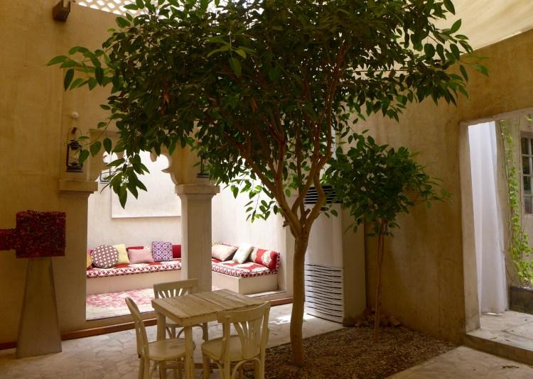 The charming Hotel and Gallery XVA in the restored Al Fahidi neighbourhood also known as Al Bastakiya.