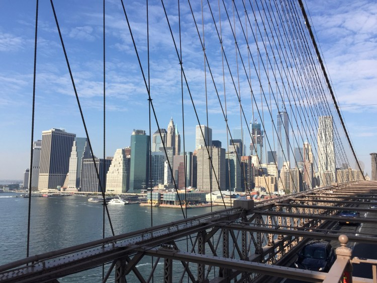Walking the Brooklyn Bridge is a must, great views of Manhattan.