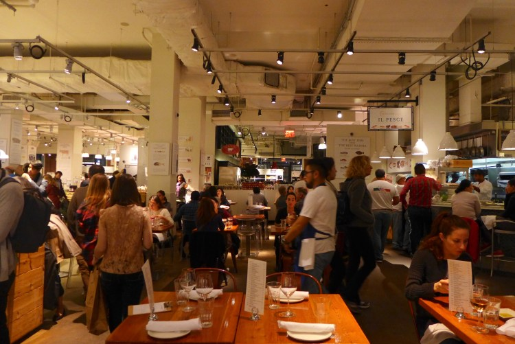 Eataly, that fabulous food emporium of everything Italian.