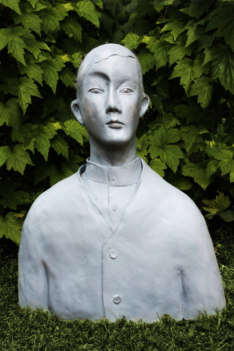 The Grey Man - Karin Wiberg. Inspired by a Modigliani painting which captivated the artist. V Söderqvist Blog