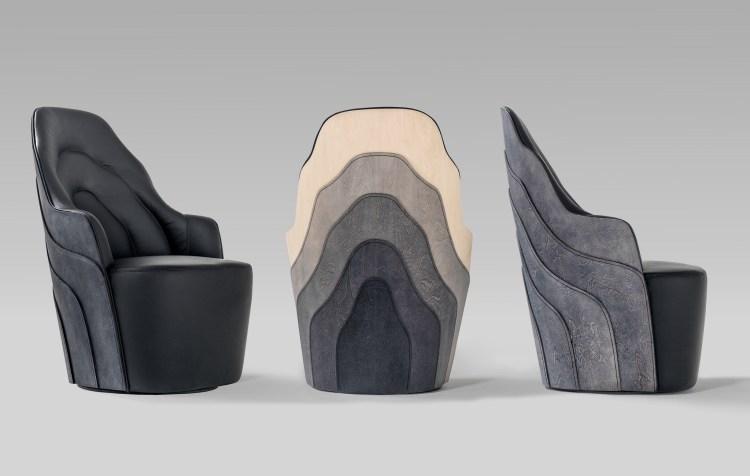 Couture Armchair for BD Barcelona Design. Färg & Blanche. V Söderqvist Blog.