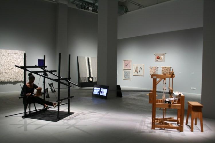 """Marcia Harvey Isaksson, project """"Dialogue"""" at Västerås Konstmuseum. V Söderqvist Scandinavian Art & Design Talks."""