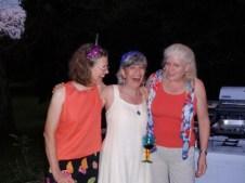 Three birthday girls