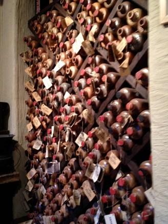 A cool storage for whiskey bottles, Bruges