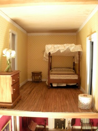 The dollhouse bed room