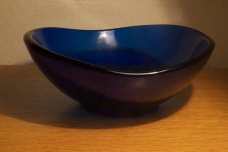 blue bowl at 1/2