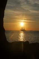 sailing ship in the way