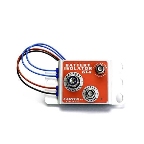 small resolution of home cartek battery isolator gt unit only