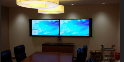 Installation of Video Conferencing System. Baltimore, MD.