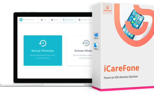 Tenorshare iCareFone 7.7.0 Crack (Mac/Win) With Serial Key Latest