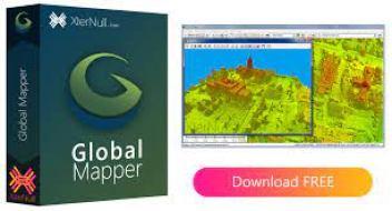 Global Mapper 21.1.2 Crack