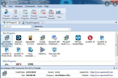 Revo Uninstaller Pro Crack is an inventive uninstaller program that causes you to uninstall superfluous programming and evacuate effectively ...