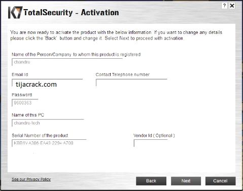 K7 Total Security Crack v16.0.0519 + Activation Key Full Keygen [Latest]