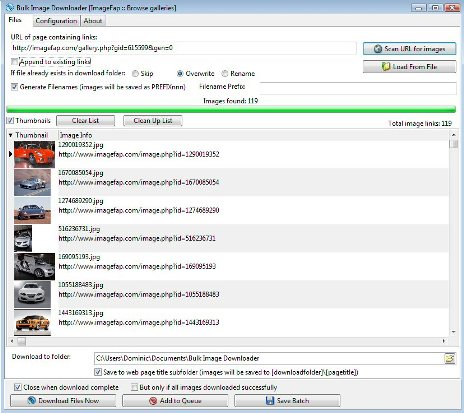 Bulk Image Downloader Patch & License Key {Updated} Free Download. Bulk Image Downloader 5.97.0 Crack (known as BID) is an easy-to-use yet ...