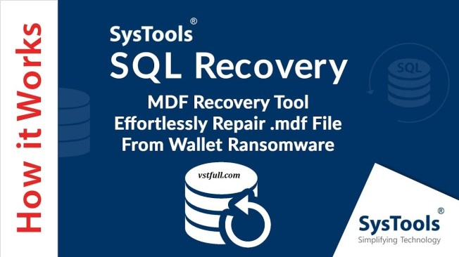 SysTools SQL Recovery Crack v13.0 With Offline Activation 2021