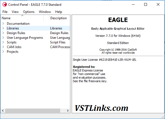 Cadsoft Eagle Pro Crack 9.7.1 With License Key Free Download (2022)