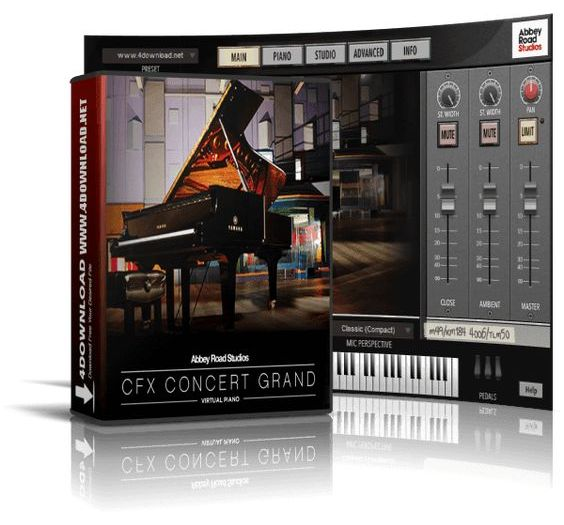Garritan CFX Concert Grand v1.010 Crack Mac Torrent Free Download
