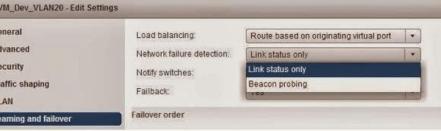 Failure detect