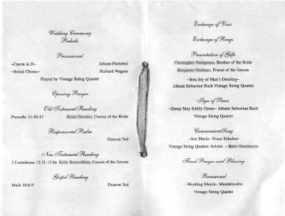 Ruselle's blog: Wedding monograms with the bride and