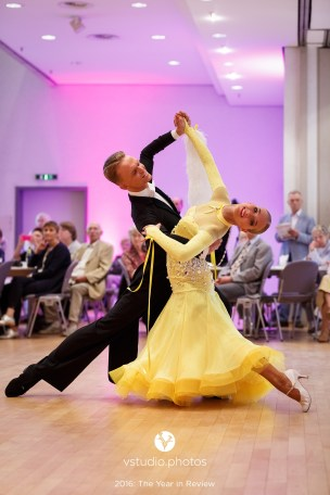 September 24, 2016 - Wetzlar, Germany. WDSF World Championship Under 21 Ten Dance in Stadthallen Wetzlar, Wetzlar. (Credit Image; vstudio.photos)