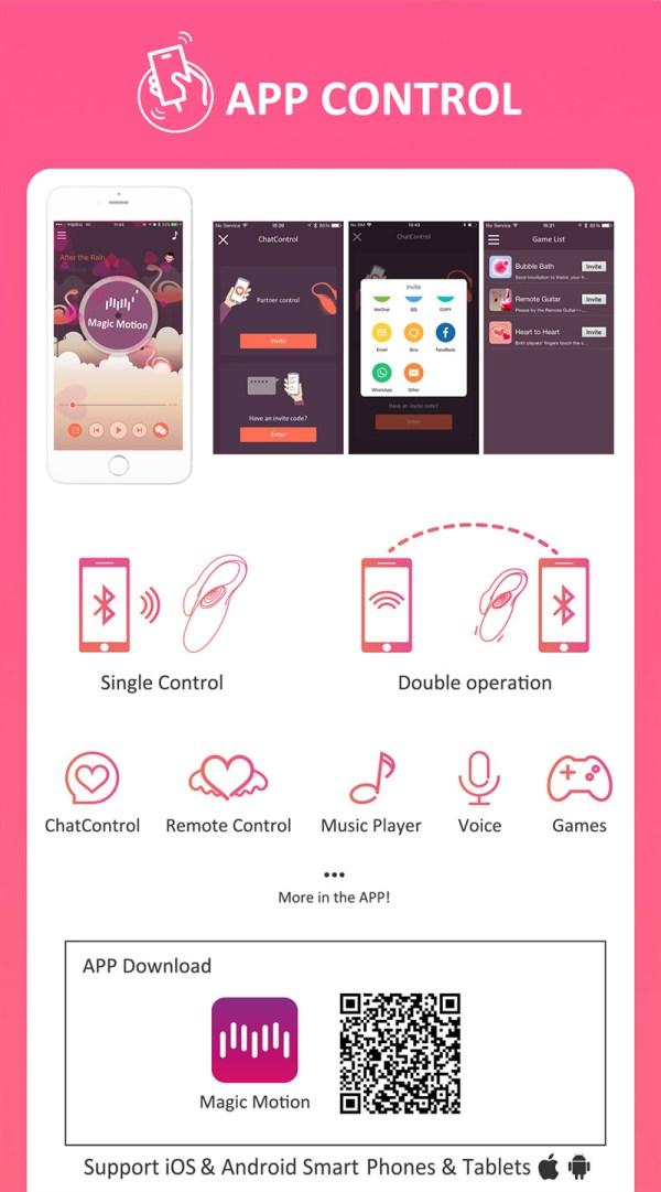 Magic Motion Kegel Flamingo für Training und Genuss App Steuerung