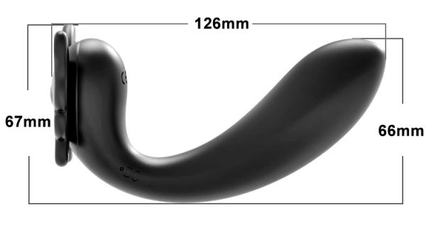 Stimulator Vibrator G-Spot Schmetterling Penis Abmessung