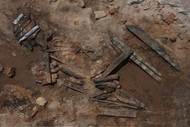 На місці розкопок корабельної аварії De Beers.