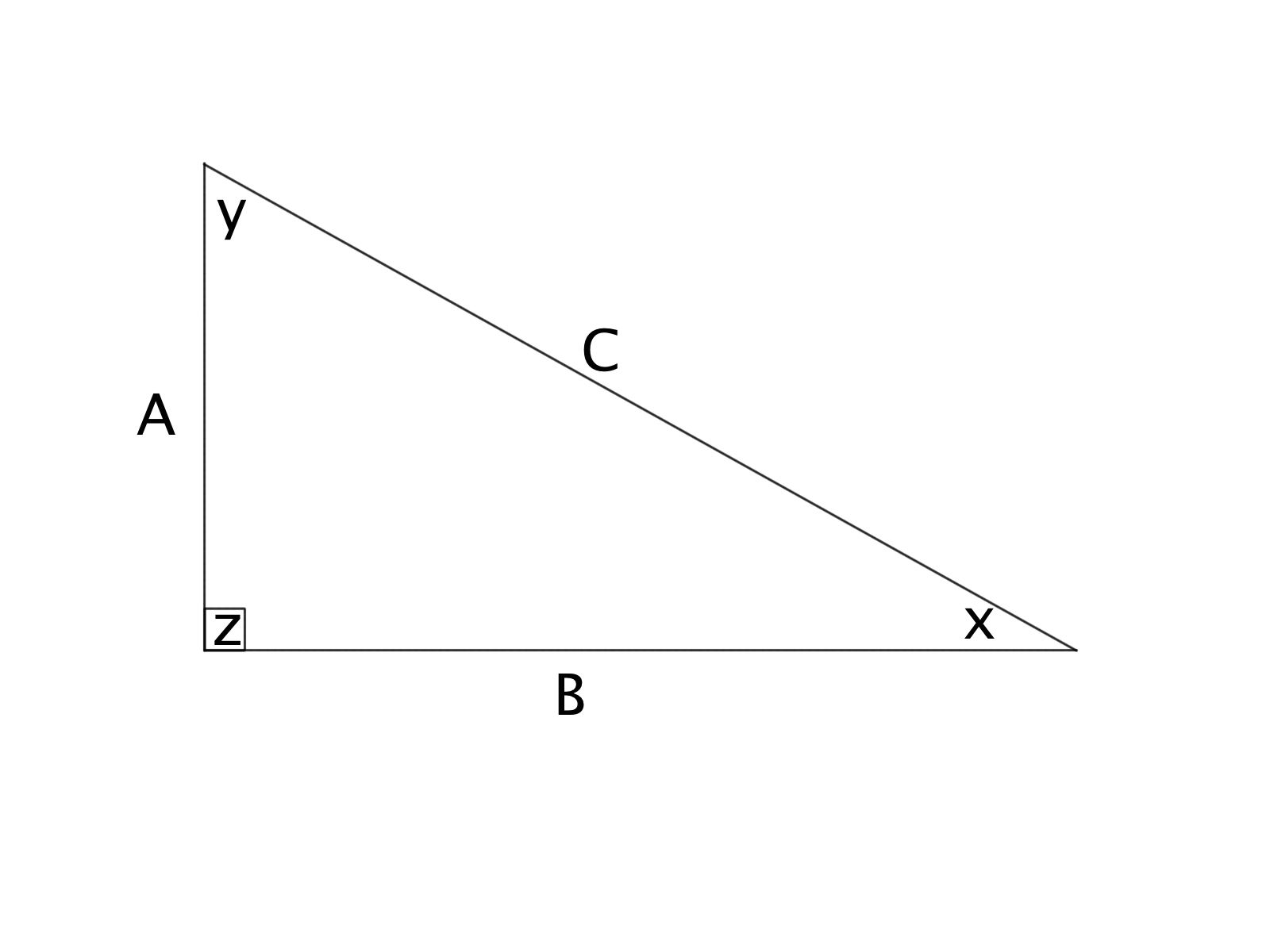 How To Find The Area Of A Right Triangle