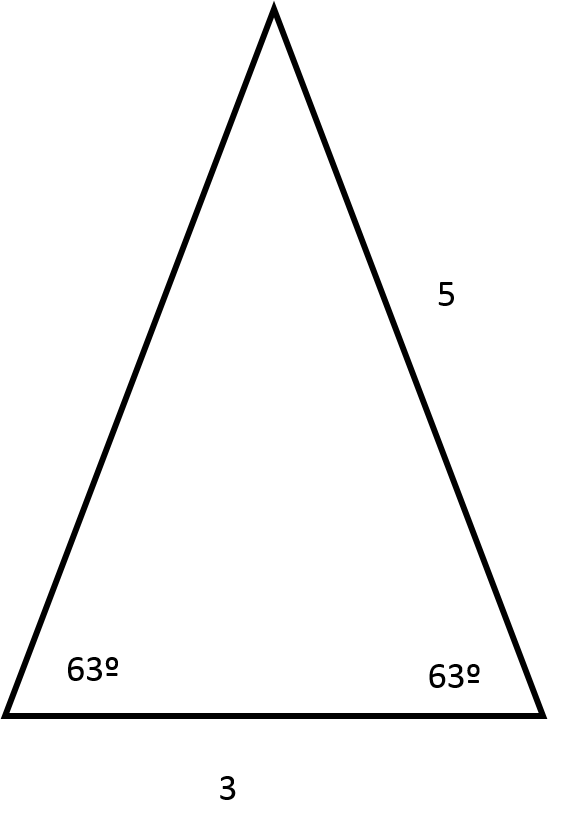 How to find the perimeter of an acute / obtuse triangle