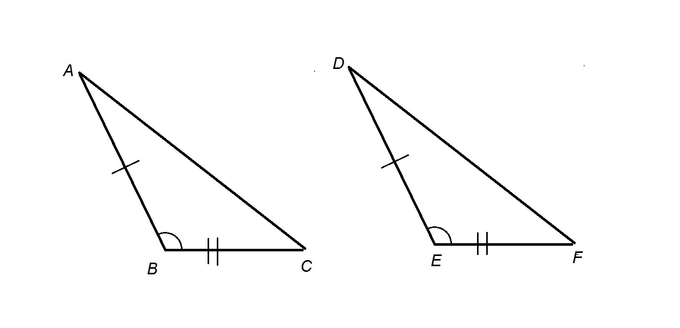 How to find if acute / obtuse triangles are congruent