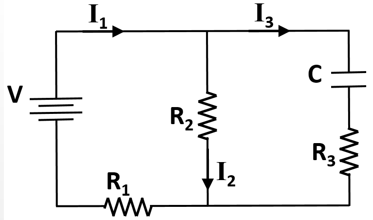 Capacitor Questions Circuit