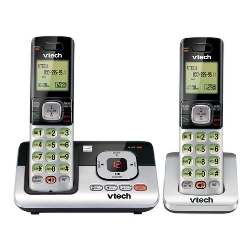 2 Handset Answering System with Caller ID/Call Waiting