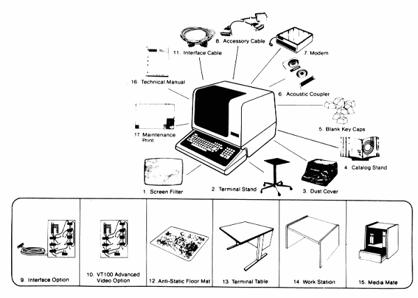 Digital VT100 User Guide: Accessories and Supplies
