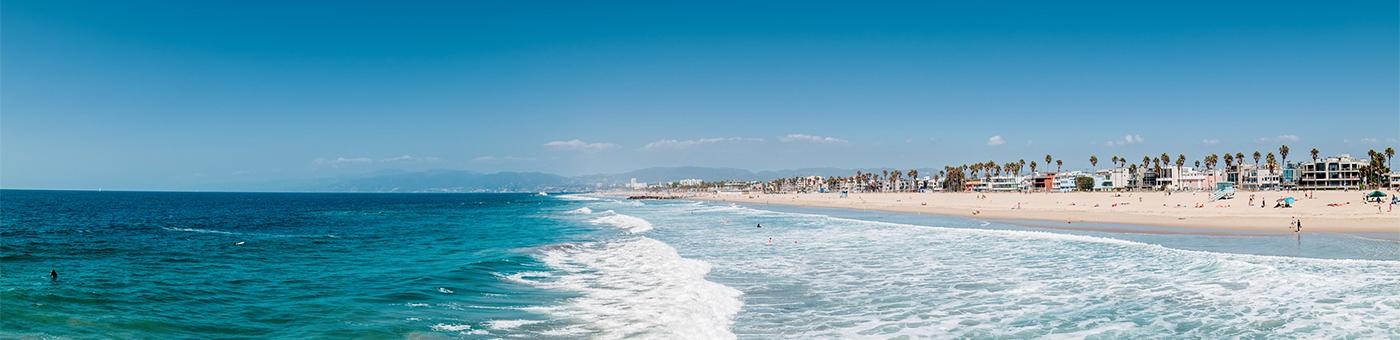 Ventura County seashore