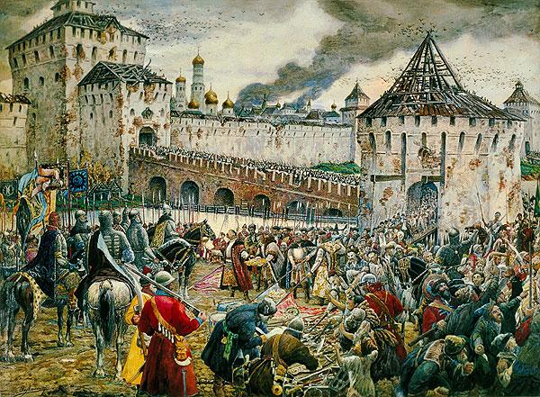 «Изгнание польских интервентов из Московского Кремля», Э.Лисснер