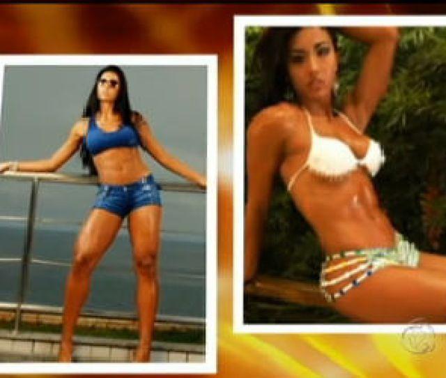 Conheca As Mulheres Mais Saradas Da Televisao Record Tv R7 Tudo A Ver
