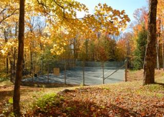 tennis courts at Chimney Hill