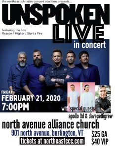 Unspoken Live @ North Avenue Alliance Church