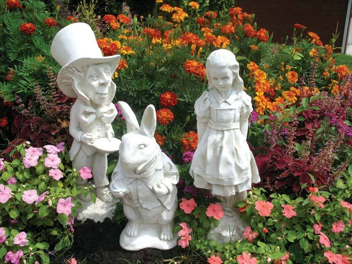Springing From The Imaginative Pages Of Lewis Carrollu0027s Beloved Classic,  The Three Main Characters Will Mingle With The Garden Flowers Or Grace An  Interior.