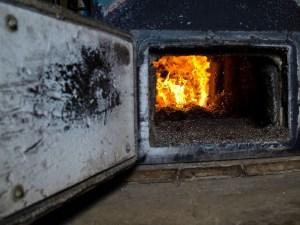 Wood chip boiler at Calais Elementary School. VTD/Josh Larkin.