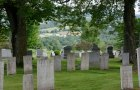 View from the Peacham Corner Cemetery. VTD/Josh Larkin