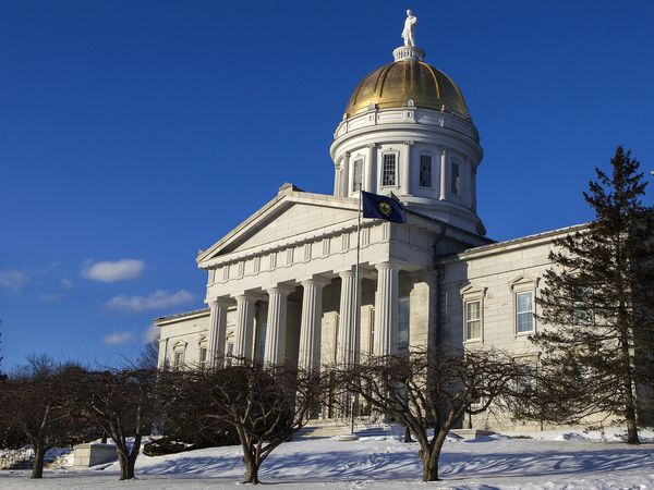 The Vermont Statehouse. Photo by Roger Crowley
