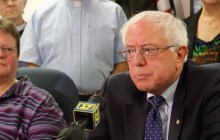 Story + video: Vermont religious leaders join Sanders to denounce economic inequality