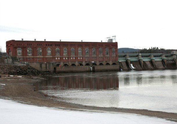 Vernon hydroelectric dam