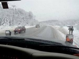 VTrans snowplow Route 4