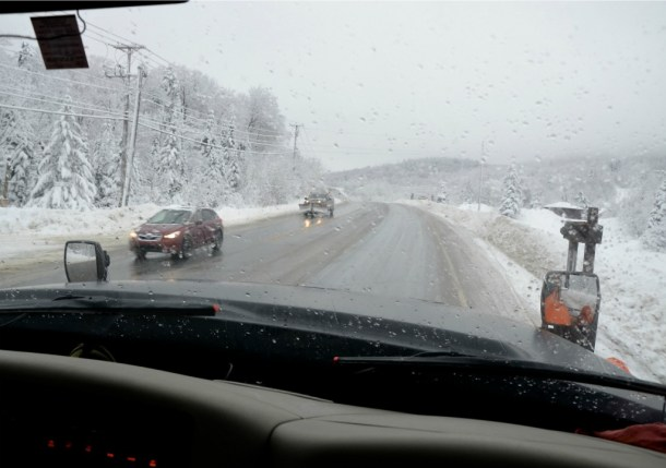 VTrans snowplow Route 4